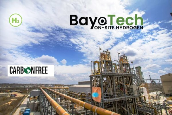 CarbonFree and Bayotech to Partner on Zero carbon Hydrogen Production