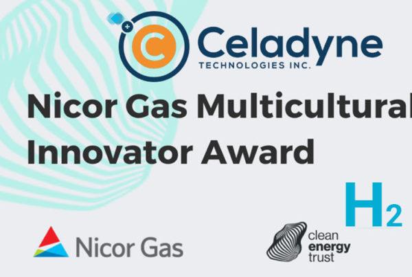 Celadyne Hydrogen Award