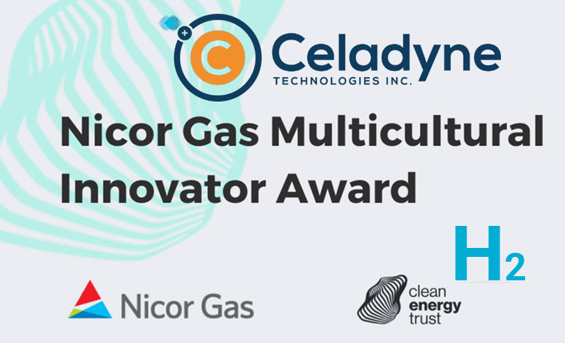 Fuel Cells Works, Celadyne Technologies Receives Inaugural Nicor Gas Multicultural Innovator Award for Hydrogen Membrane Tech