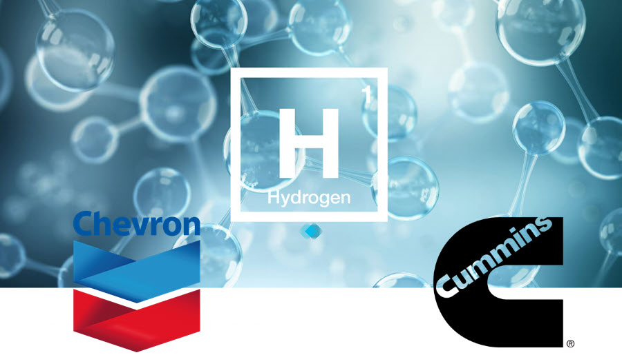Fuel Cells Works, Chevron And Cummins Announce Strategic Collaboration On Hydrogen