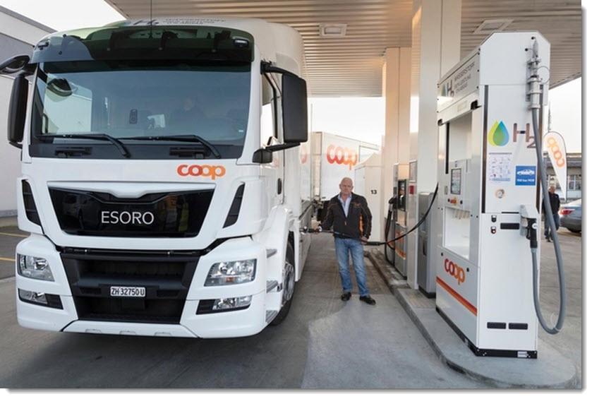 Fuel Cells Works, Third Hydrogen Filling Station in Bern-Bethlehem Opens