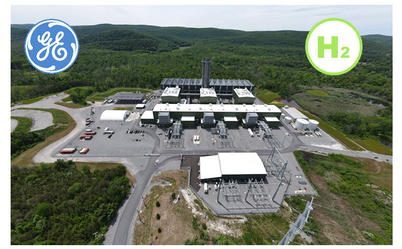 fuel cells works, Cricket Valley Energy Center & GE Sign Agreement To Help Reduce Carbon Emissions In New York With Green Hydrogen-Fueled Power Plant