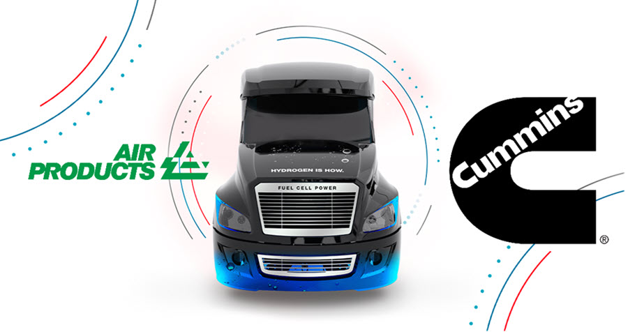 Fuel Cells Works, Air Products and Cummins to Accelerate Development and Deployment of Hydrogen Fuel Cell Trucks