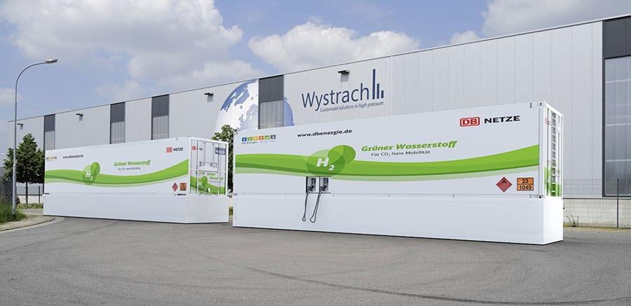 fuel cells works, Deutsche Bahn Chooses Wystrach for Hydrogen Refueling Station