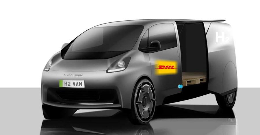 fuel cells works, Welsh Hydrogen Vehicle Manufacturer Riversimple and DHL Announce Partnership