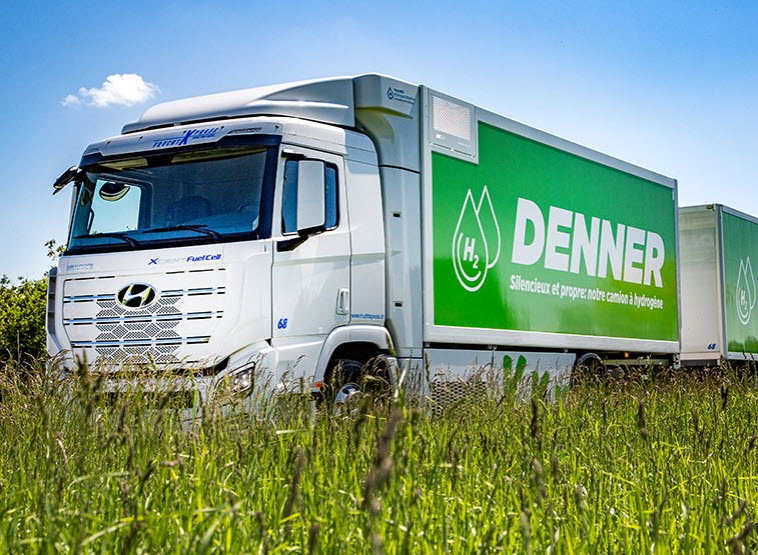 Fuel Cells Works, Full Steam Ahead: Denner Is Now Supplying Branches With Two Hydrogen Trucks