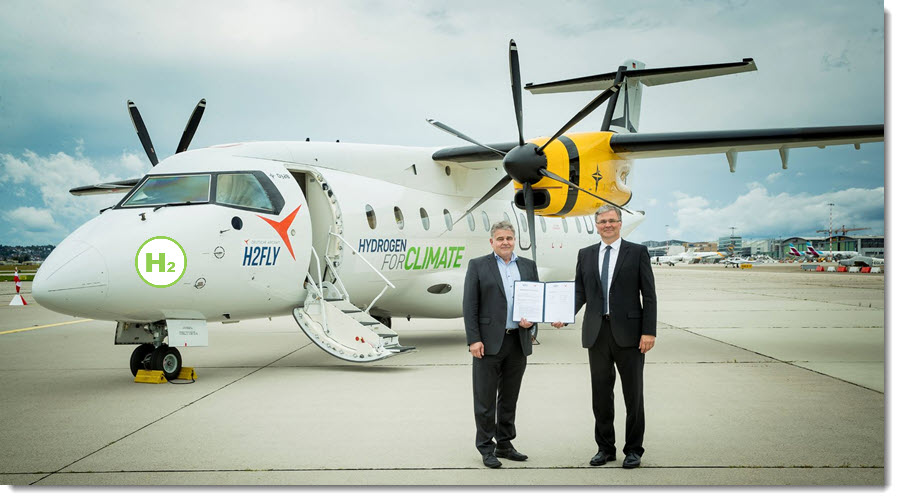 fuel cells works, Deutsche Aircraft and H2fly Join Forces to Explore Hydrogen Powered Flight