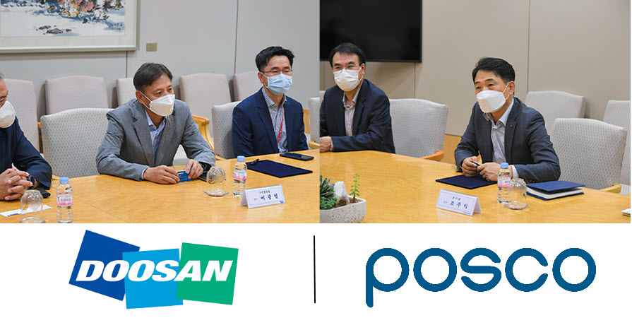 fuel cells works, Doosan Heavy Pursues Ammonia-Fueled Hydrogen Gas Turbine Development Together with POSCO and RIST
