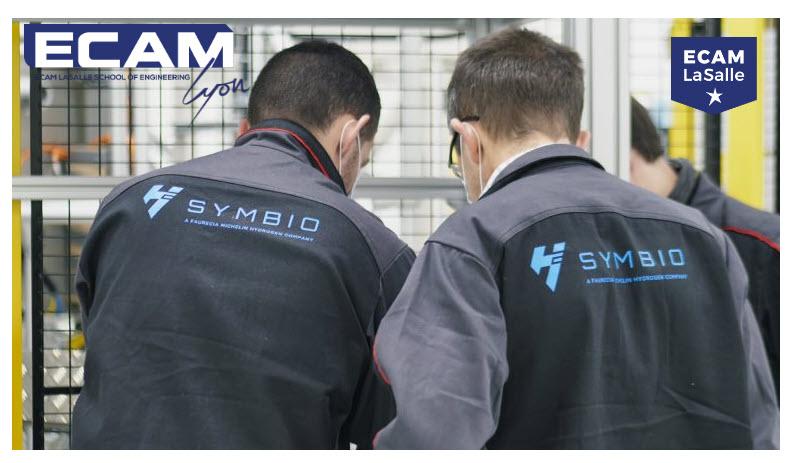 fuel cells works, ECAM LaSalle Partner of Symbio Hydrogen Academy