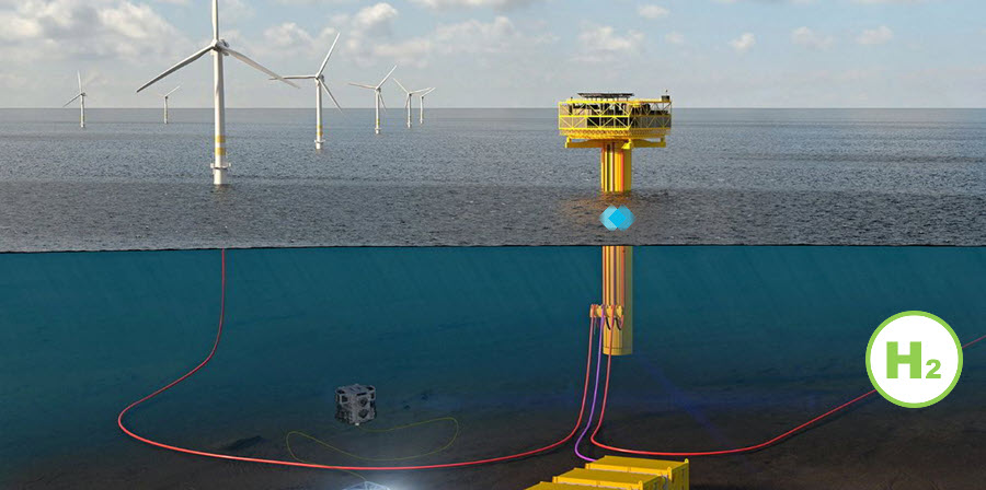 fuel cells works, EDP, TechnipFMC & Partners Join Forces To Develop A Concept Study For Green Hydrogen Production From Offshore Wind Power