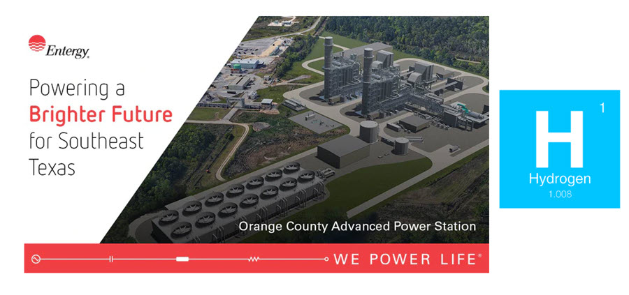 fuel cells works, Using Hydrogen & Natural Gas, Entergy Texas Plans New Generation Facility To Power Southeast Texas