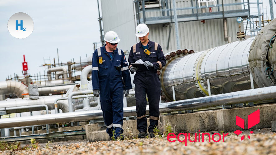 Equinor developing plans for world leading hydrogen storage facility in Yorkshire
