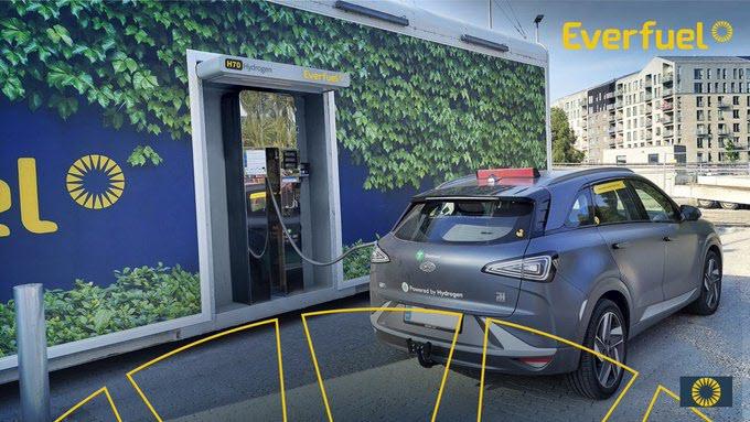 fuel cells works, Everfuel Opens Hydrogen Refuelling Station in Copenhagen