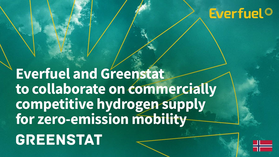 fuel cells works, Everfuel and Greenstat to Collaborate on Zero-Emission Mobility in Norway