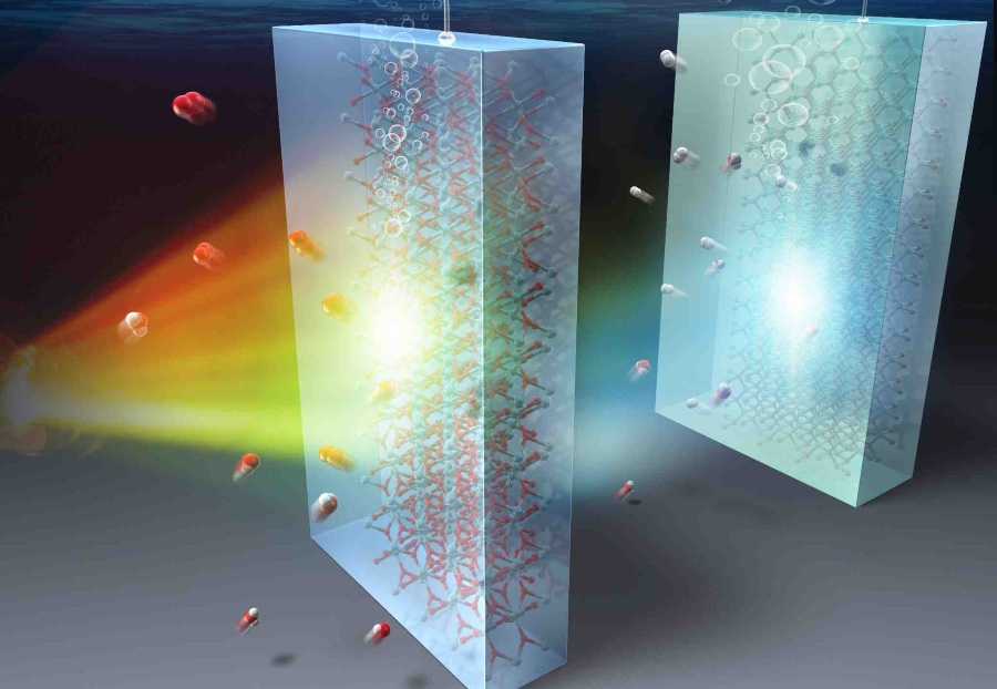 """Fuel Cells Works, Giving a """"Tandem"""" Boost to Solar-powered Water Splitting"""