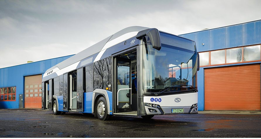 Fuel Cells Works, First City in Poland Getting a Solaris Hydrogen Bus