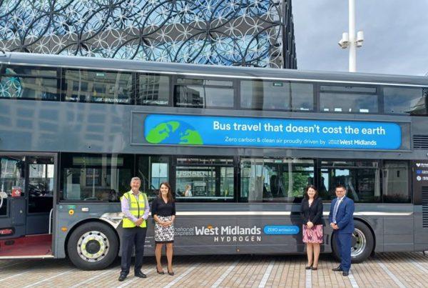 First hydrogen bus