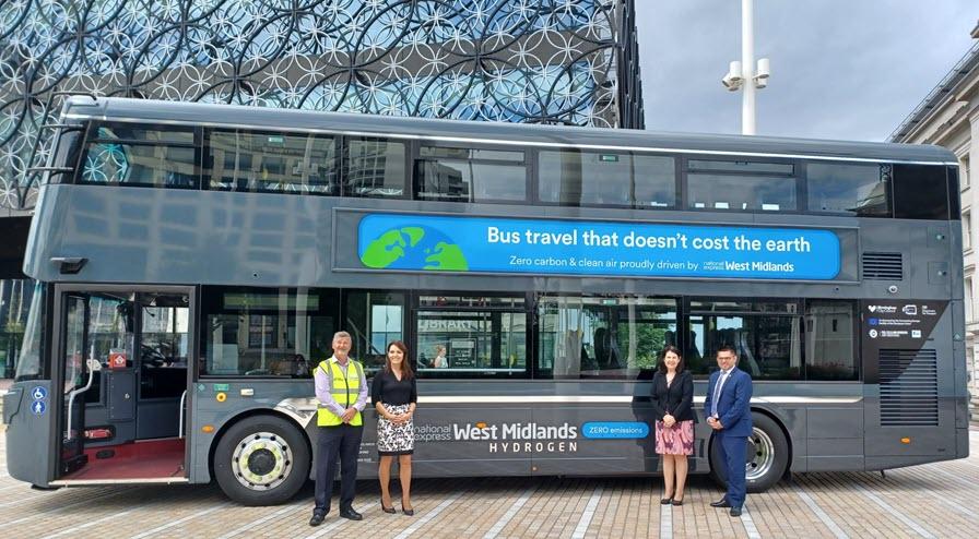 Fuel Cells Works, Birmingham Gets First Hydrogen Bus