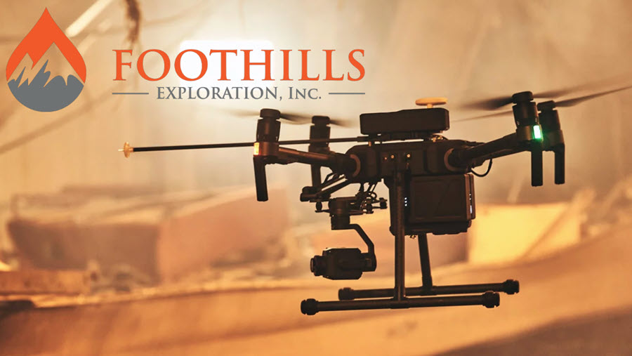 Fuel Cells Works, Foothills Exploration, Inc. Announces Joint Venture To Develop Drone-Based Natural Hydrogen and Helium Detection Technology