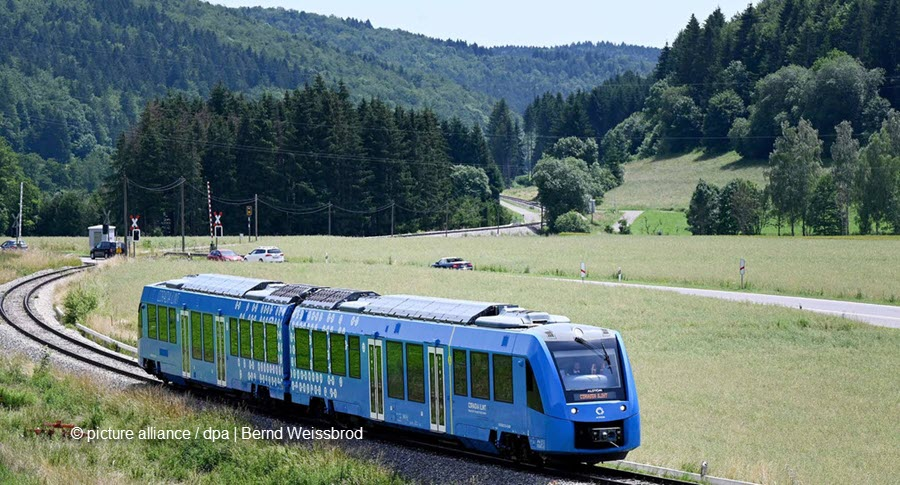 Fuel Cells Works, For the First Time, a Hydrogen Fuel Cell Train Is Running in Trial Operation in Baden-Württemberg