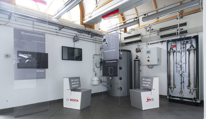 """Fuel Cells Works, Mayor Andreas Starke: """"Fuel Cell Technology Leads Bosch Bamberg Site into the Future"""""""