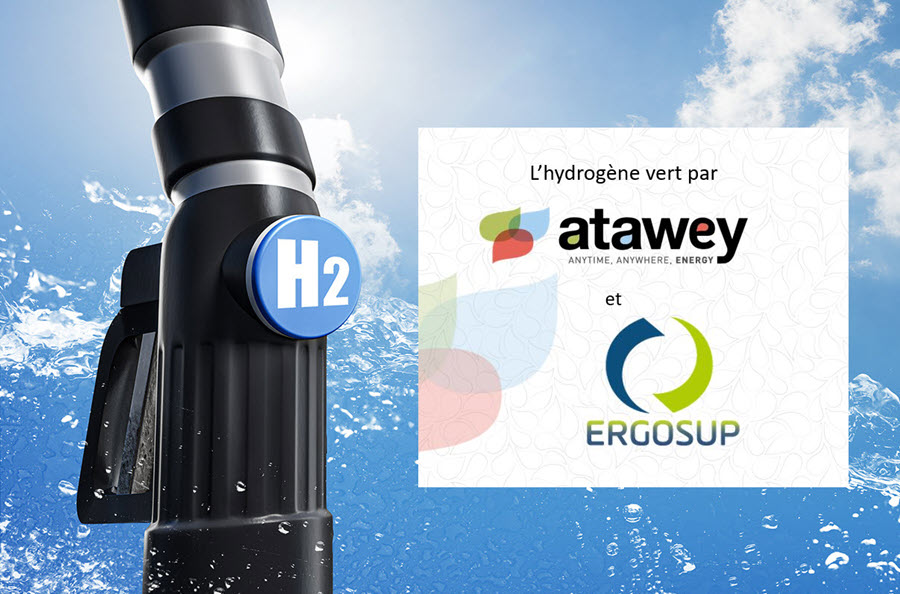 fuel cells works, France: Atawey and ERGOSUP Partner to Develop and Market a Hydrogen Production and Distribution Station