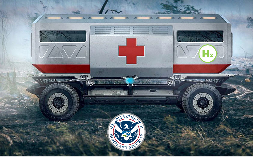 fuel cells works, Delivering Clean Power to Disaster Scenes, Without Compromise Using the Hydrogen Fuel Cell Powered H2Rescue
