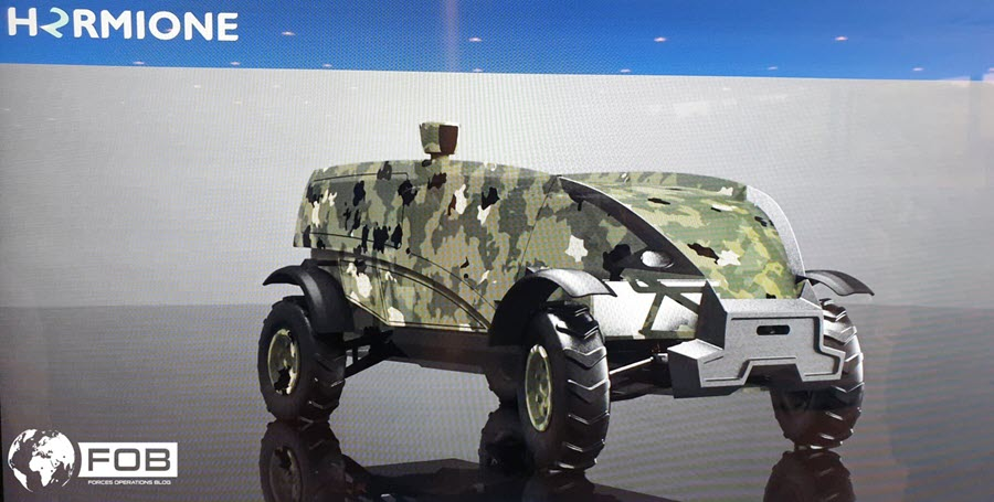 Fuel Cells Works, H2RMIONE, the Concept of a Hydrogen Mule That Has Its Sights Set on Defense