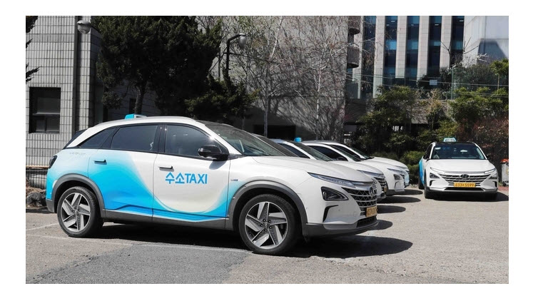 fuel cells works, The Korean Version of the New Deal Will Be Commemorated With a Hydrogen Taxi Free Ride by H2Korea and the Korea Automobile Research Institute
