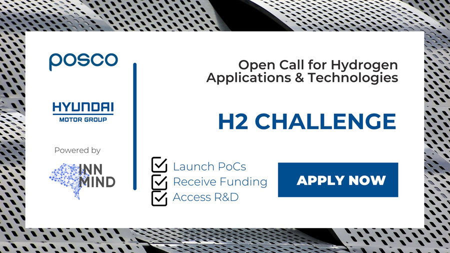 Fuel Cells Works, Hyundai CRADLE and POSCO Capital Launched H2 Challenge To Find Innovative Hydrogen Related Applications and Technologies