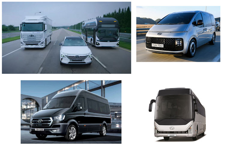 fuel cells works, Hydrogen-Powered 'Vans and Express Buses' are Coming as Hyundai Motor FCEV '3 →6 model' Lineup Expands