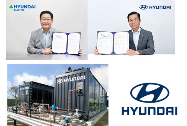 Hyundai Motor Hyundai Electric Sign MOU to Develop Hydrogen Fuel Cell Package for Power Generation