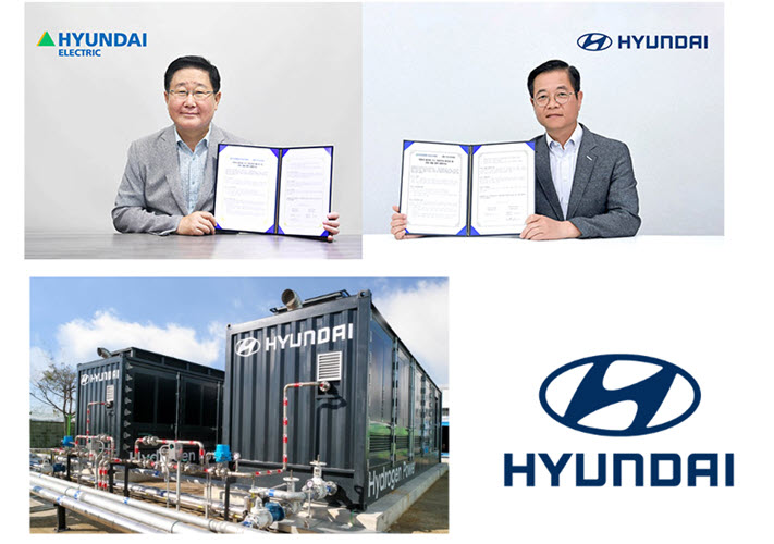 Fuel Cells Works, Hyundai Motor-Hyundai Electric Sign MOU to Develop Hydrogen Fuel Cell Package for Power Generation