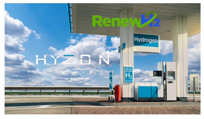 Fuel Cells Works, Hyzon Motors Partners With Liquid Hydrogen Production Company RenewH2 to Develop Fueling Stations