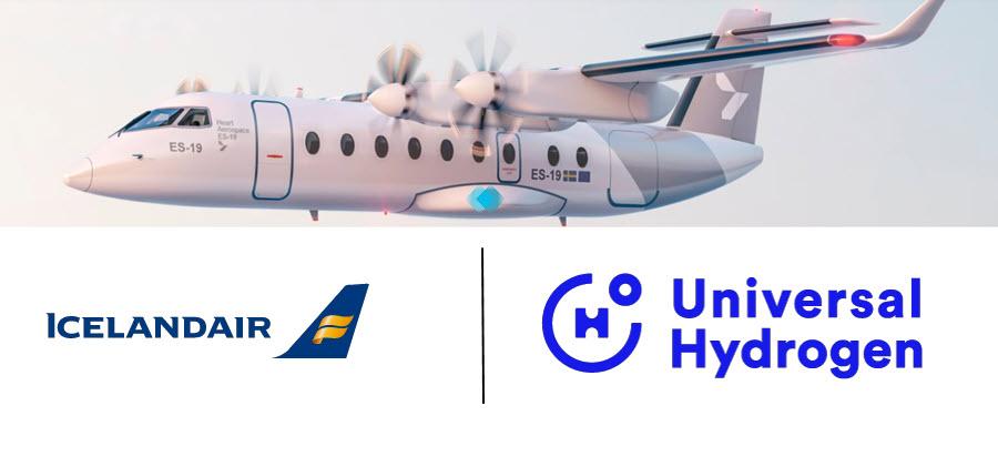 Icelander and Universal Hydrogen