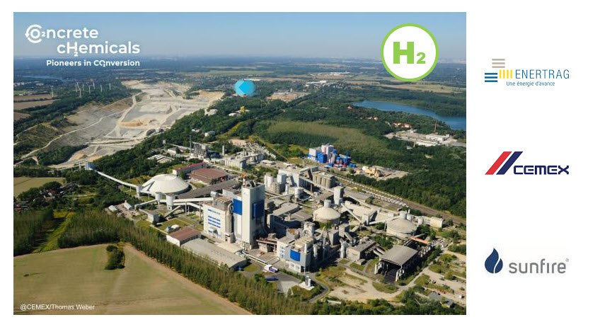 Fuel Cells Works, International Consortium Of Cemex, Enertrag And Sunfire Launches Ground Breaking Green Hydrogen Project