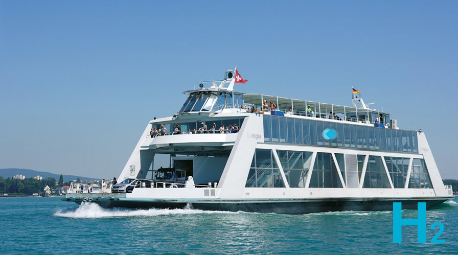 fuel cells works, Is Swiss Shipping on Lake Constance Switching From Diesel to Hydrogen?