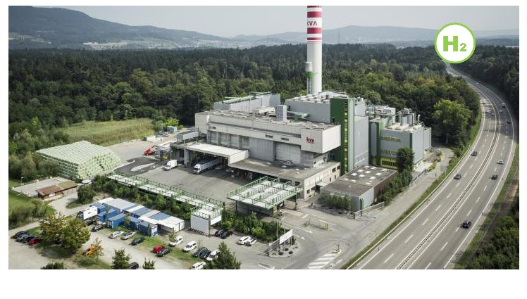 Fuel Cells Works, KVA Waste Incineration Plant in Buchs Plans to Become a Hydrogen Production Plant