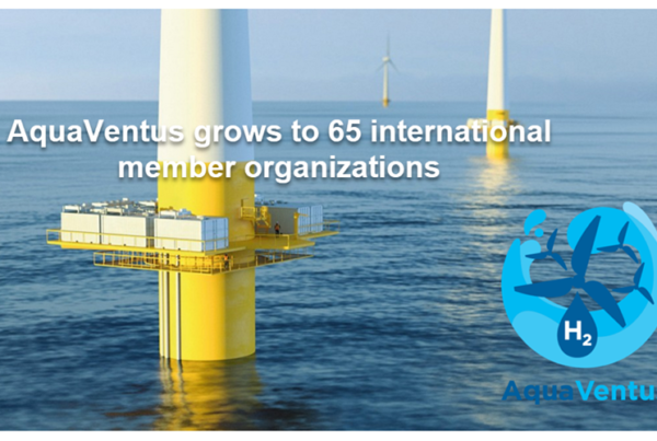 New Energy for Green Hydrogen AquaVentus Grows to 65 Members