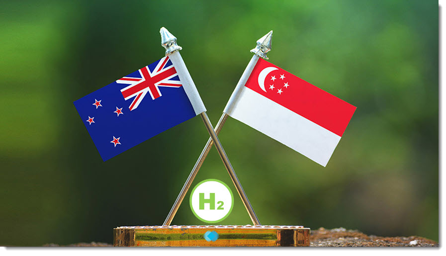 fuel cells works, New Zealand Signs Hydrogen Agreement with Singapore