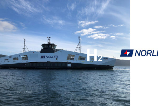 Norwegian Ferry Operator Norled Takes Delivery of Worlds 1st Hydrogen Powered Ferry