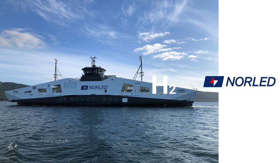 Fuel Cells Works, Norwegian Ferry Operator Norled Takes Delivery of World's 1st Hydrogen-Powered Ferry