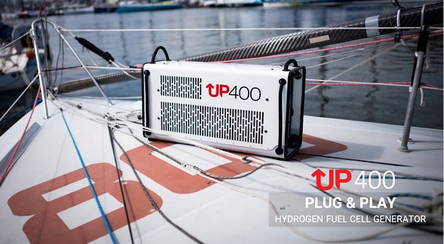 Fuel Cells Works, PowerUP Energy Unveils its Portable Fuel Cell Generator