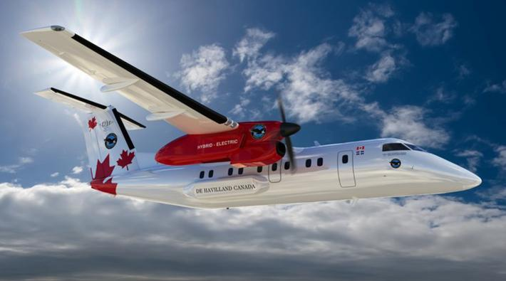 fuel cells works, Pratt & Whitney Canada Takes to The Skies with Hydrogen Dash-8