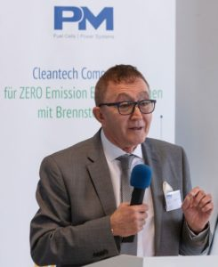Proton Motor CEO Dr. Faiz Nahab continues to support GKN in using hydrogen for energy storage c Proton Motor 1
