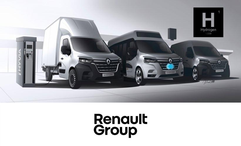 Fuel Cells Works, Renault, hydrogen, green hydrogen, fuel cell