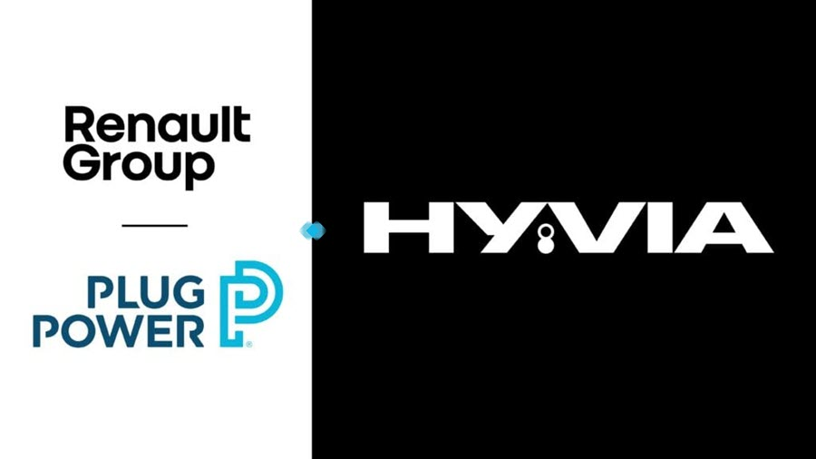 fuel cells works, The HYVIA hydrogen venture between carmaker Renault and U.S. company Plug Power will sell products throughout Europe,
