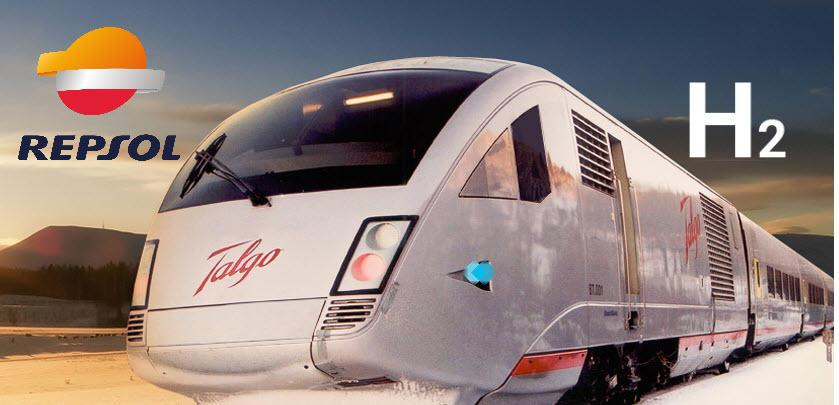 fuel cells works, Repsol and Talgo to Jointly Develop a Renewable Hydrogen-Powered Train