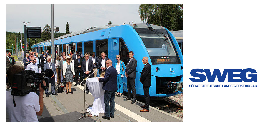 Fuel Cells Works, SWEG Starts Trial Operation of a Fuel Cell Train on the Zollernalbbahn