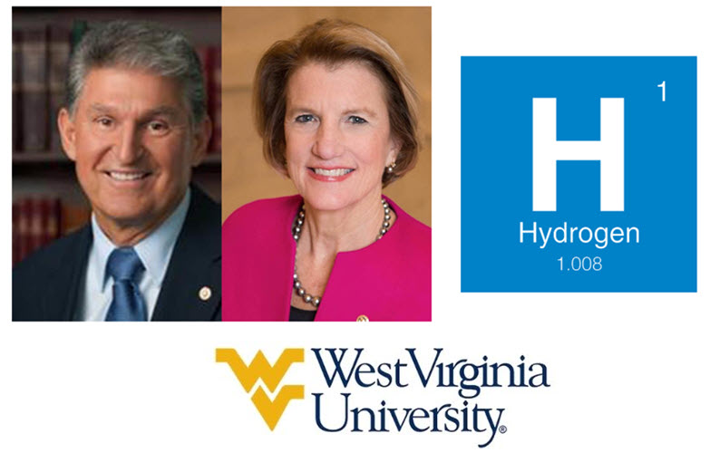 fuel cells works, Capito, Manchin Announce $1,250,000 For Clean Hydrogen Research At West Virginia University